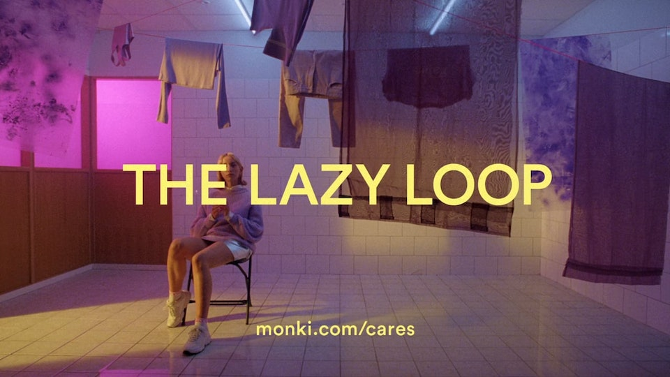Monki  - The Lazy Loop - Eat sleep recycle repeat