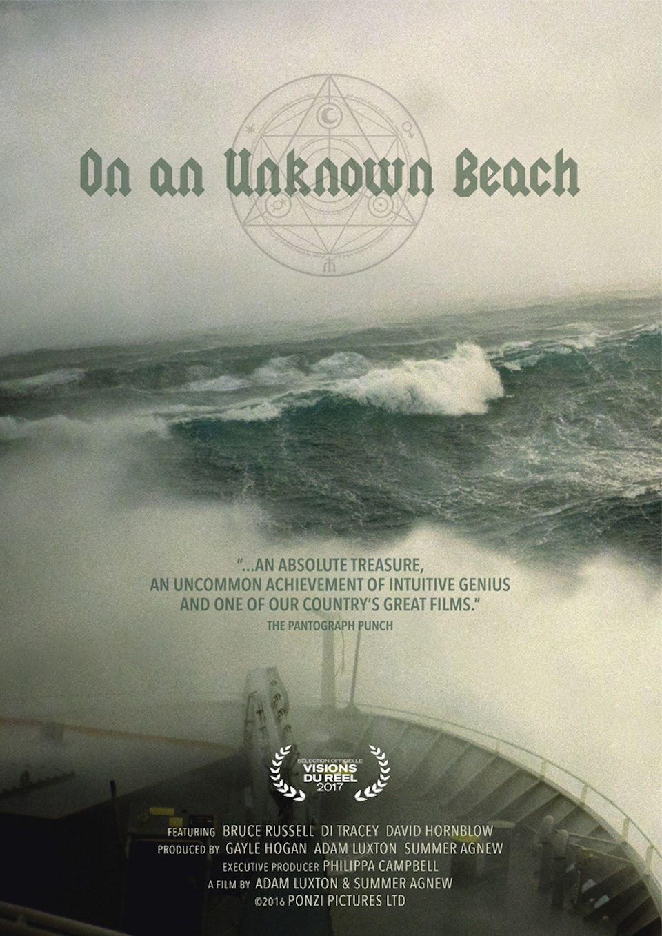 summer agnew makes films - on an unknown beach