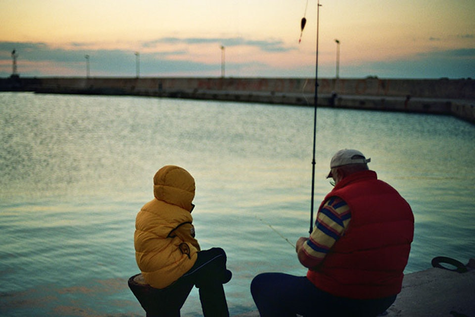 people Greece Fishing Copy