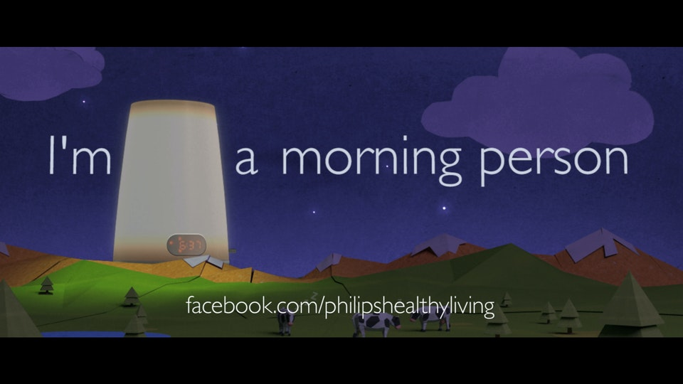 Philips. Make me a morning person. European Campaign