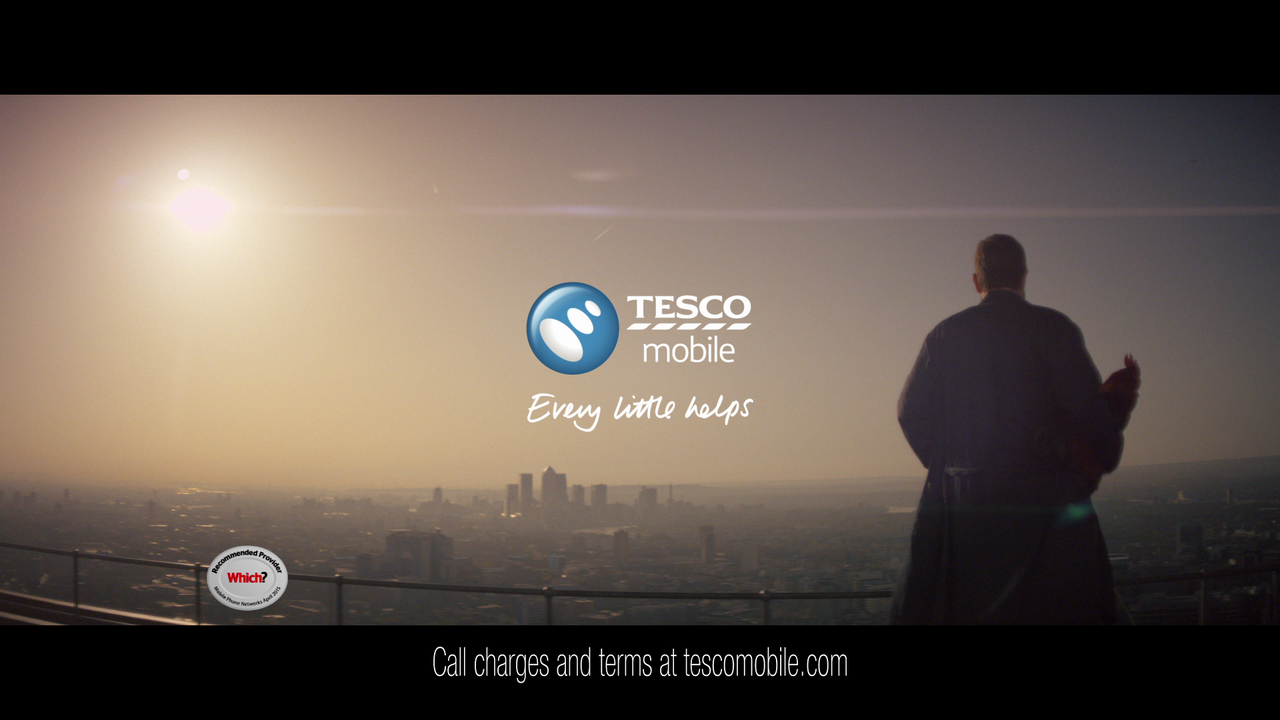 Tesco Mobile. W+K AMS. UK Campaign. -