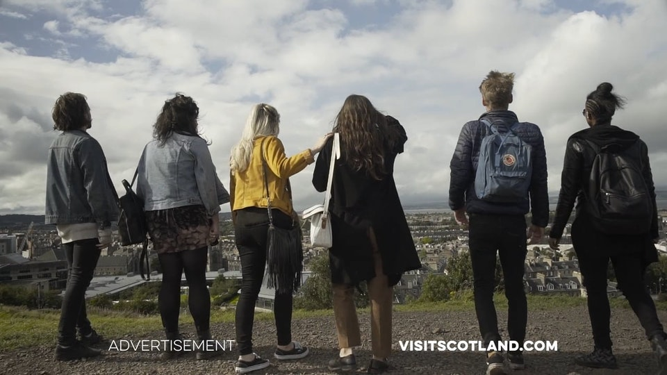 Visit Scotland E4 TVC 'Edinburgh and the Borders'