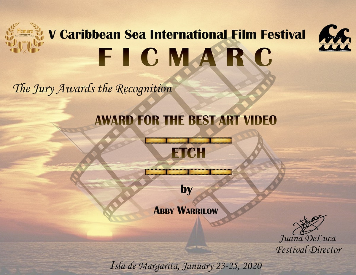 Win for Etch at Caribbean Sea International Film Festival