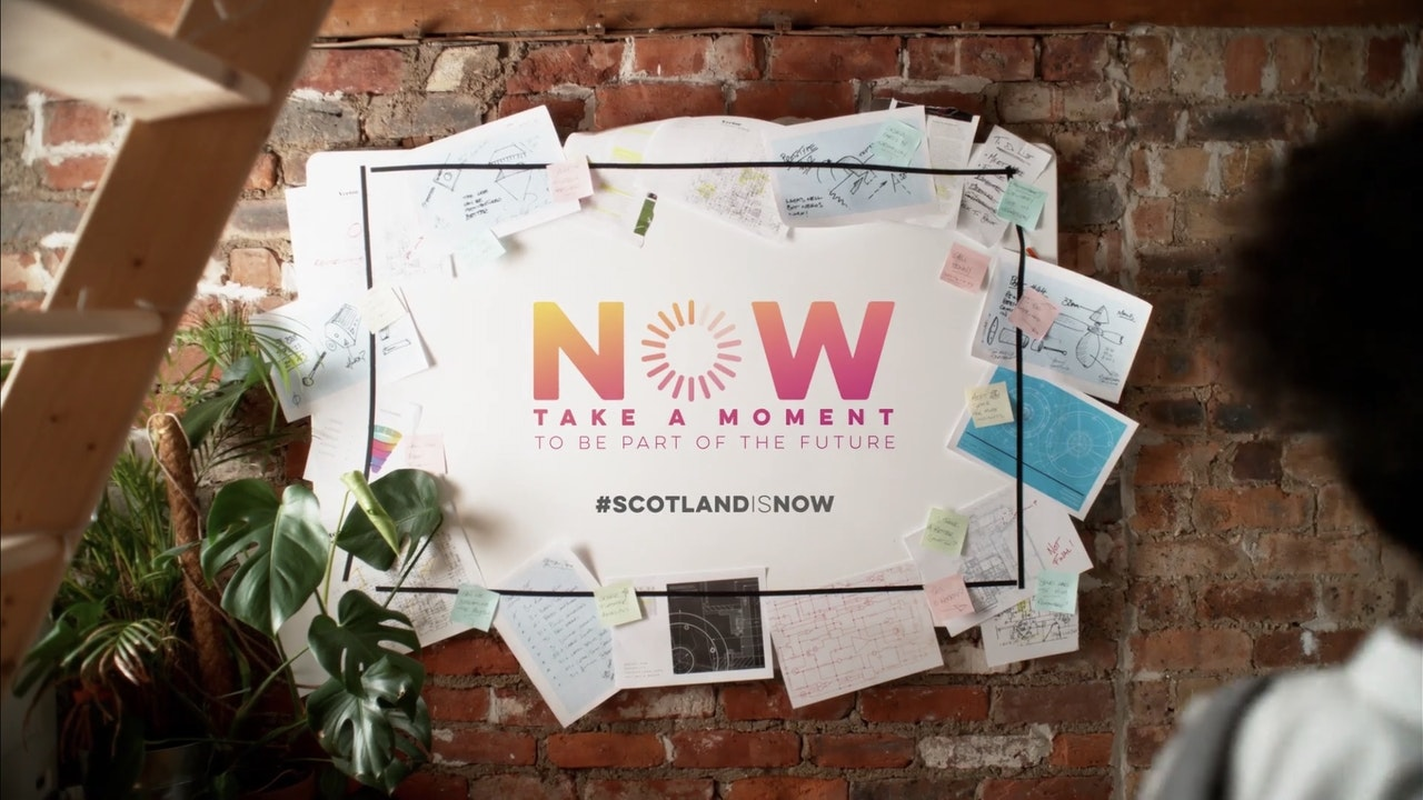 Scotland is Now 'Innovation' - TVC -