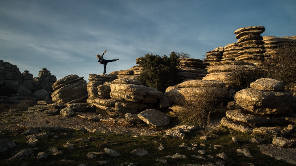 Dance film study in the mountains of Anadulsia