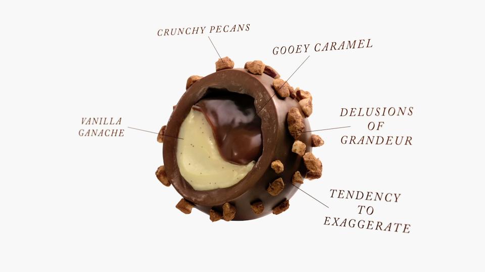 Godiva Truffles.