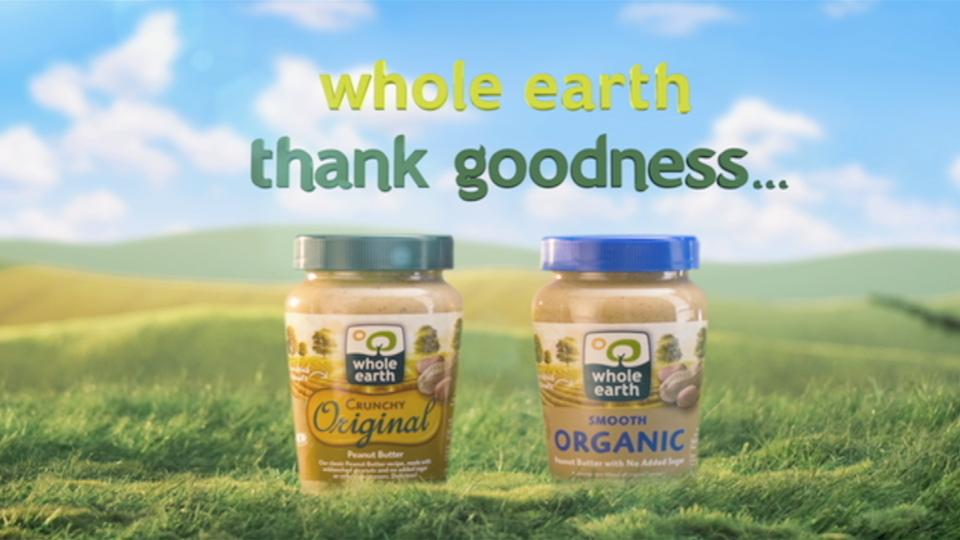 Whole Earth, Peanut Butter.