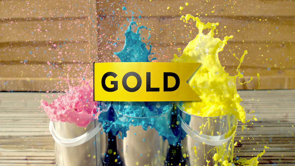 Gold Idents.