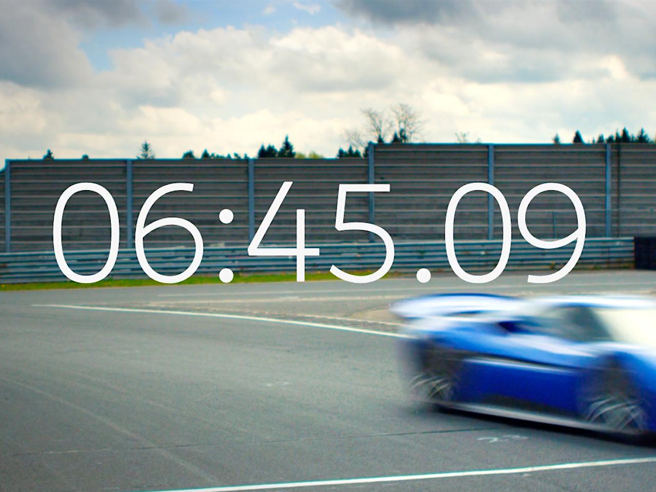 NIO. Nurburgring EP9 Record. (teaser)