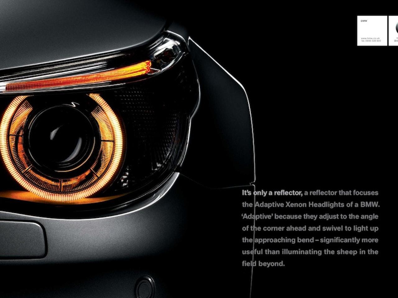 BMW brand print - Yannakis Jones