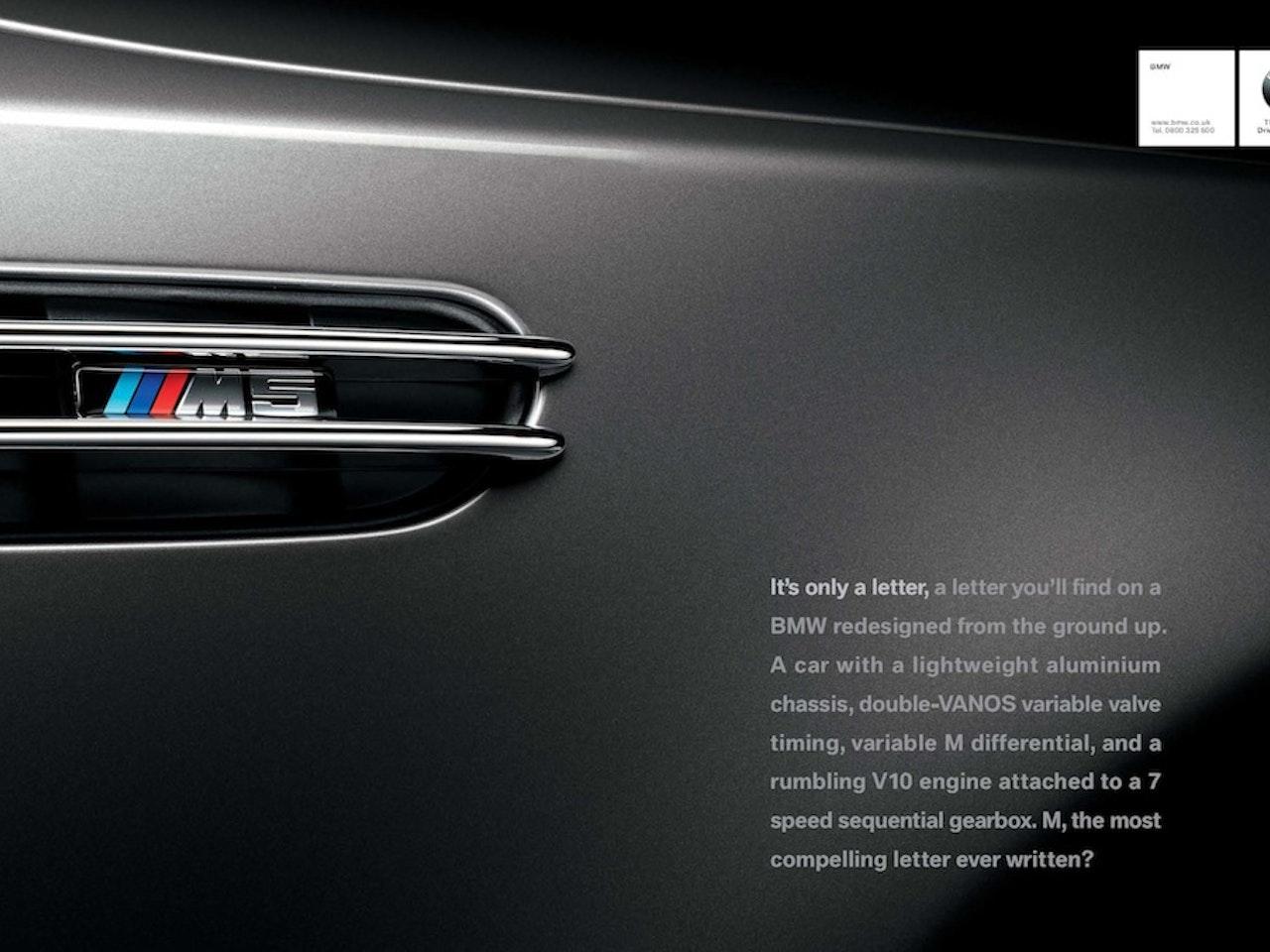 BMW brand print