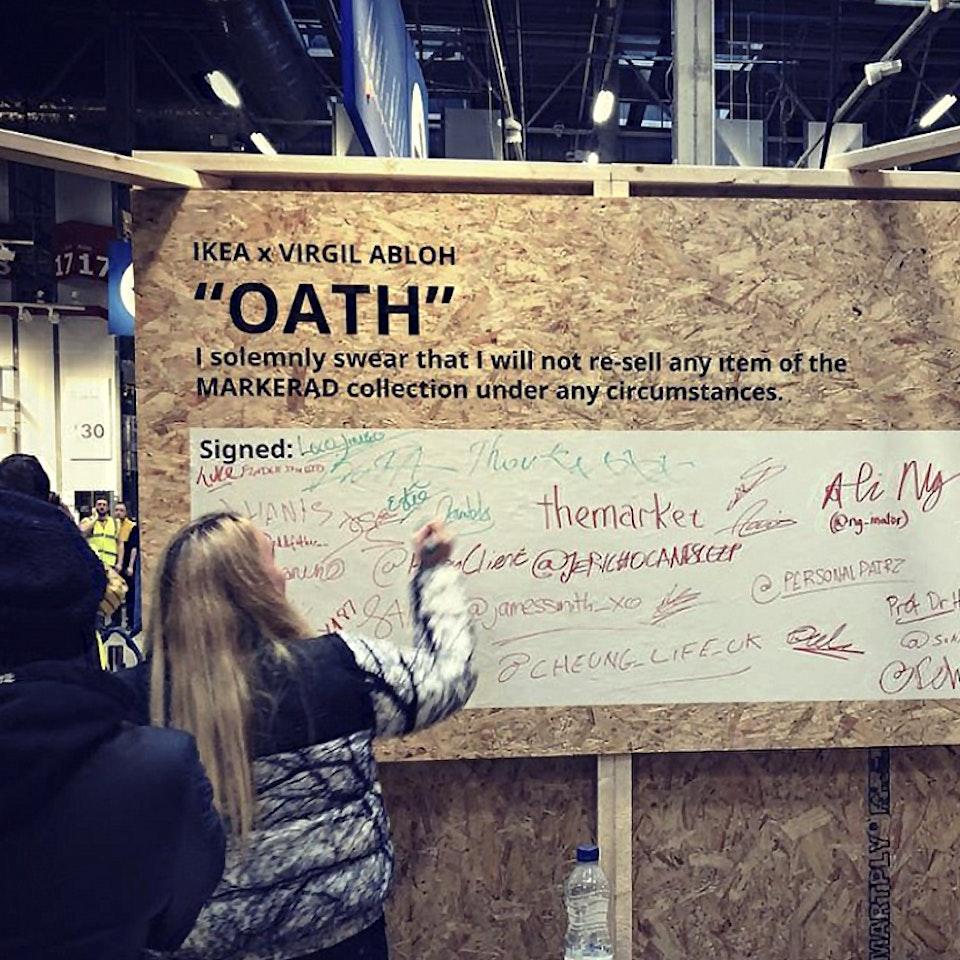 IKEA. The Abloh Oath newstart