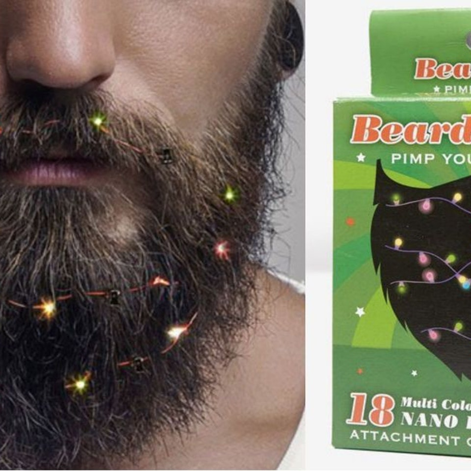 Beard Baubles Lights