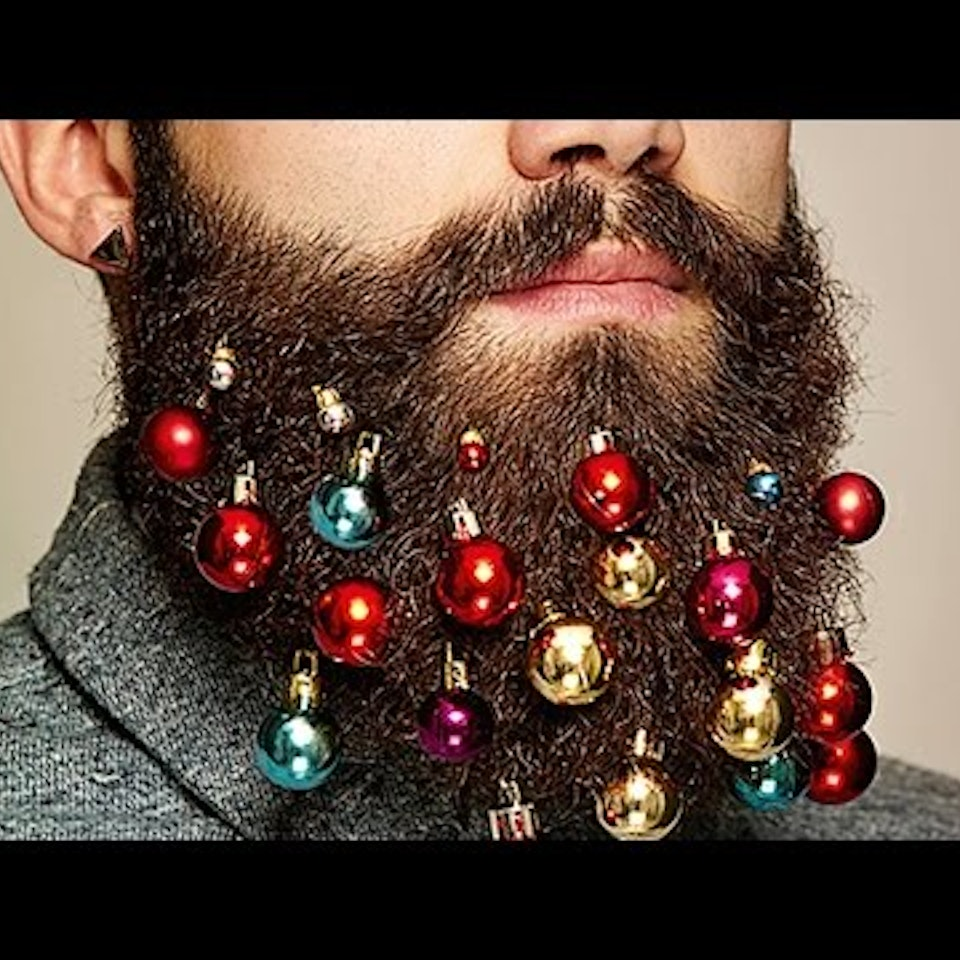Beard Baubles Beard Bauble Ornaments Sell Out Ahead of Christmas