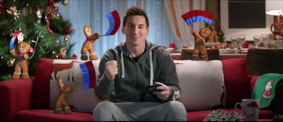 "EA Sports ""FIFA 15  Messi vs Hazard"" (Spain & UK) -"