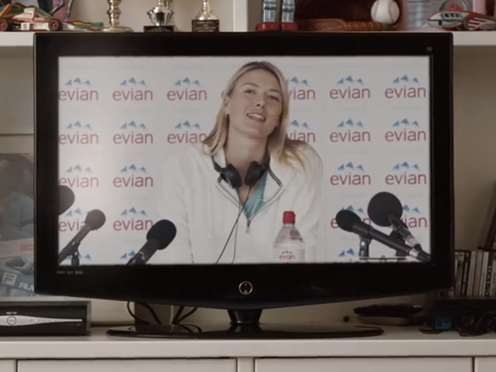 "EVIAN & RIZZLE KICKS ""Tell her"" ft Maria Sharapova"