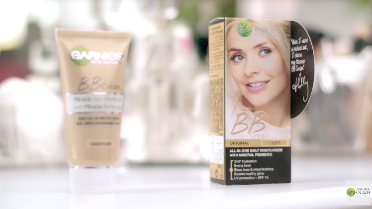 "GARNIER ""How to apply your BB cream"""