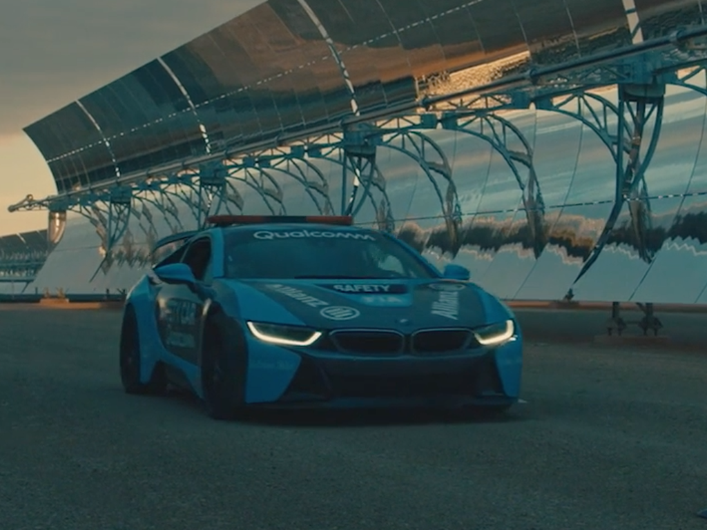 "BMWi8 ""Formula E Safety Car launch"" - Morocco"
