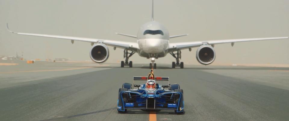 Qatar Airways | Car vs Plane -