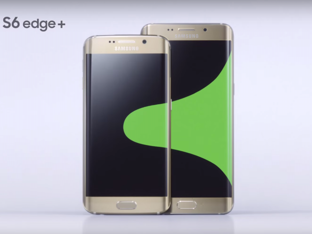 "Samsung ""Galaxy S6 edge+"""