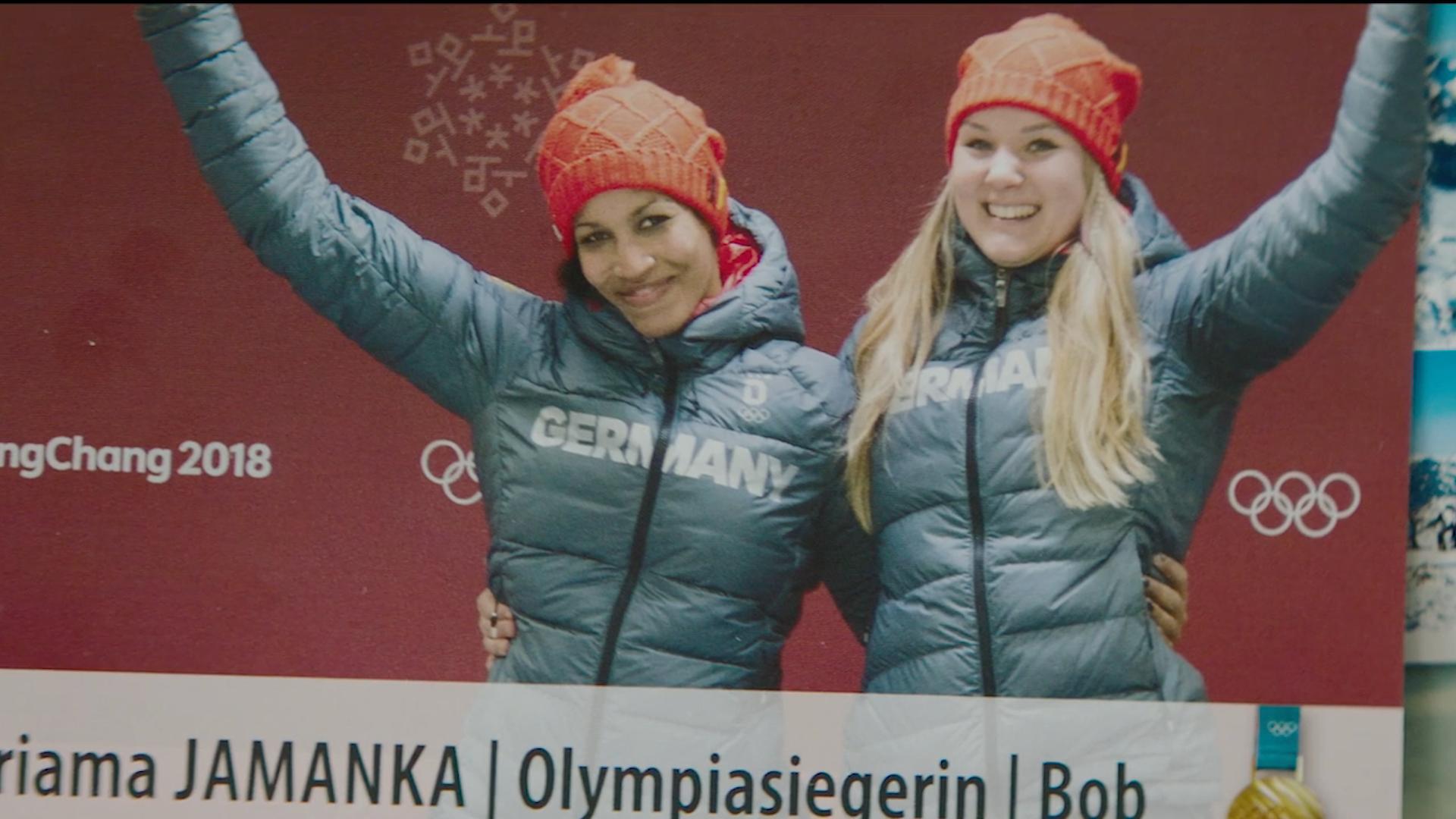Google: Olympic winner - Mariama Jamanka