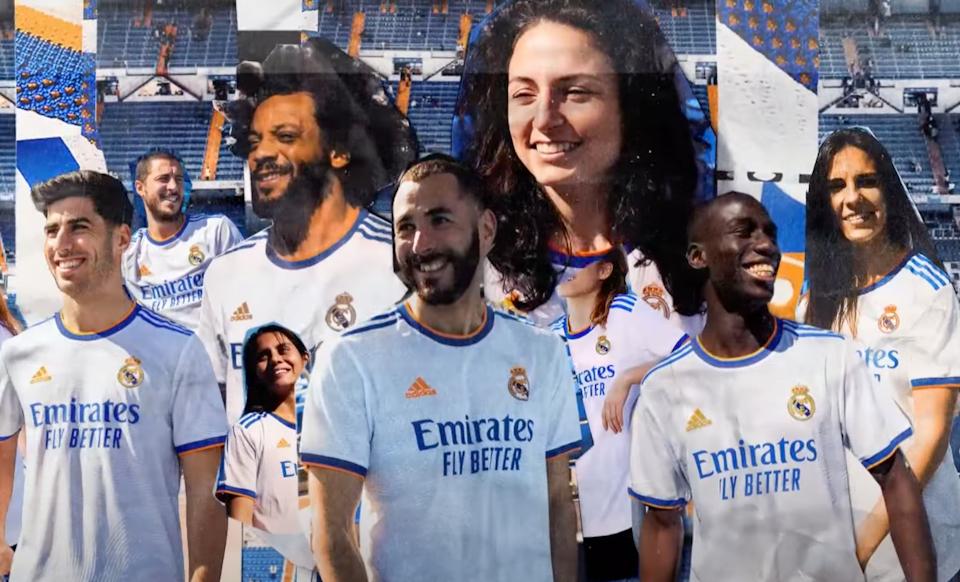 "ADIDAS ""REAL MADRID - HOME KIT 2022"" -"