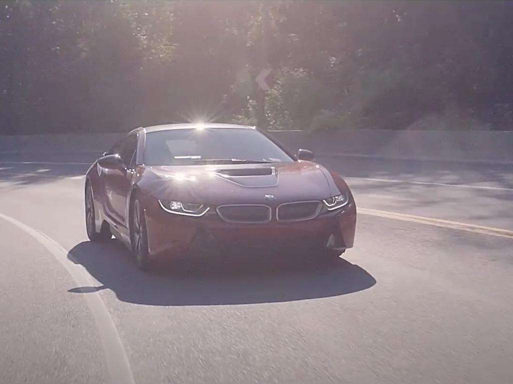 "HARMAN KARDON / BMW i8 ""Driving the sounds of future"" Montreal"