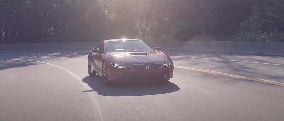"HARMAN KARDON / BMW i8 ""Driving the sounds of future"" Montreal -"