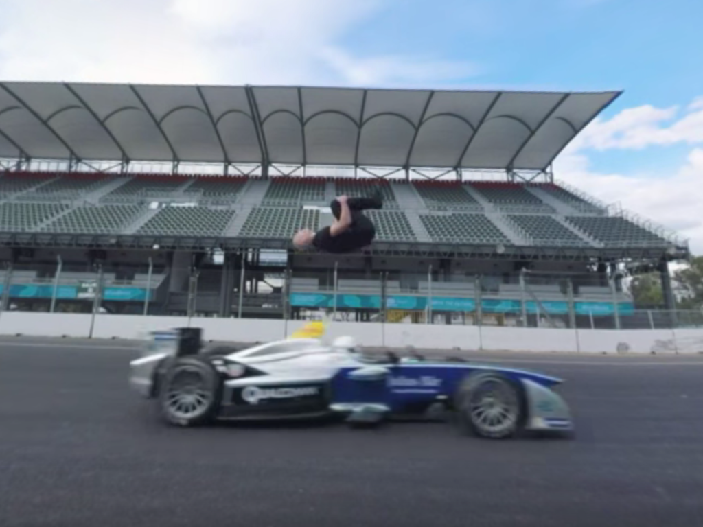 "Formula E ""360 Degrees - Leap of Faith"""