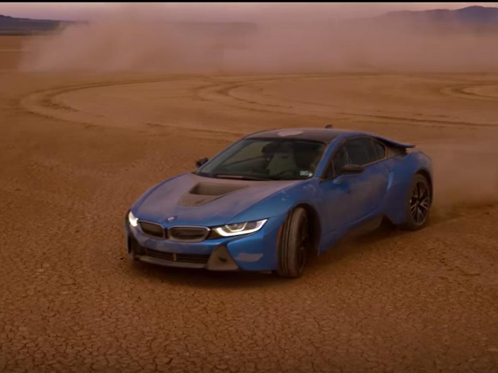 """BMW i8 & Formula E """"EV Dream Drive"""""""