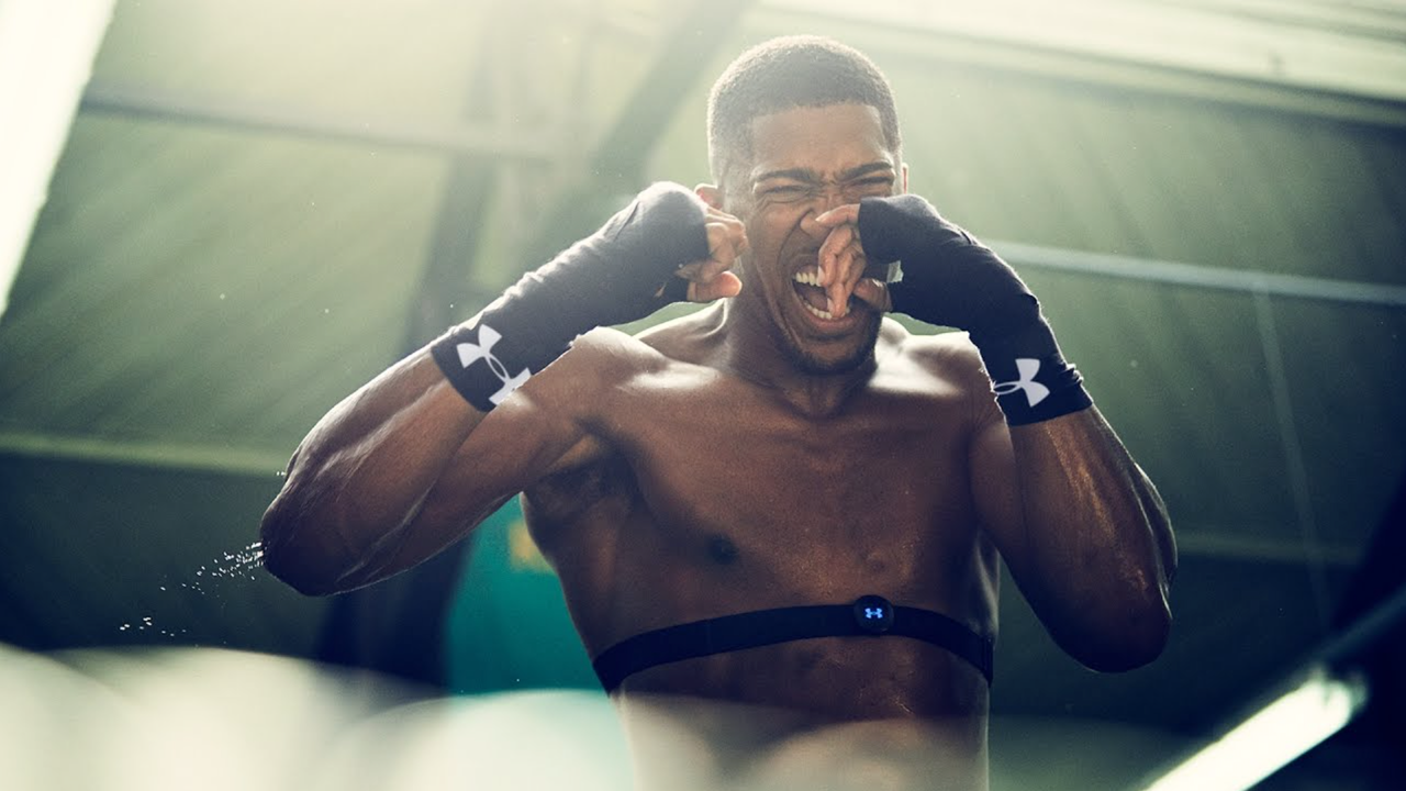 "Under Armour - Anthony Joshua     ""Ultimate Charged"""