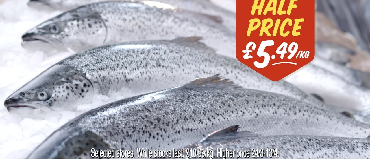 Morrisons - Salmon