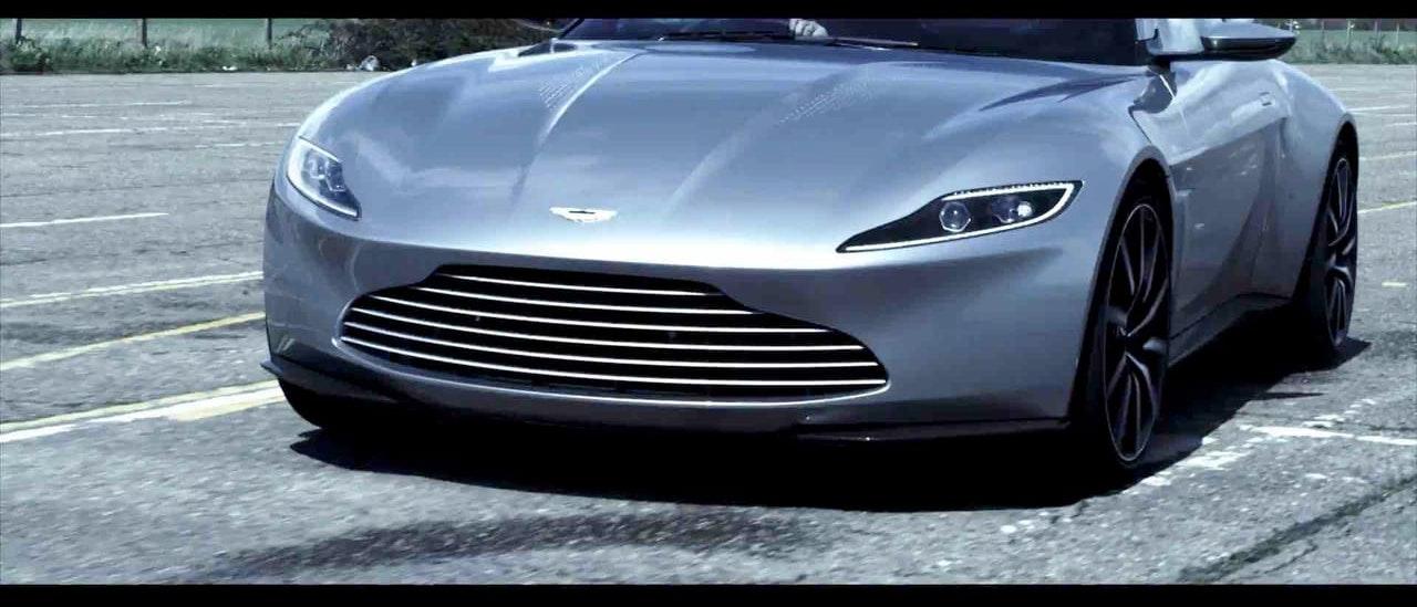 Aston Matin - 007 Burnout