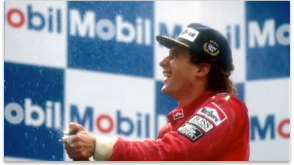 Top Gear Ayrton Senna tribute