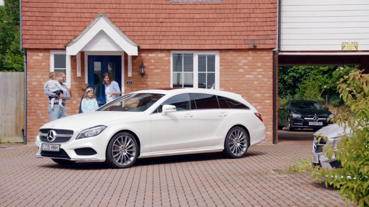 Mercedes Benz comes to town -