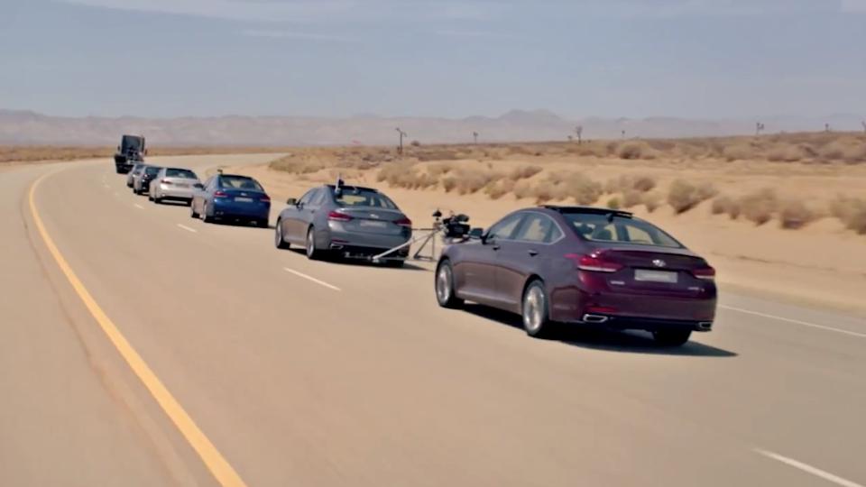 Hyundai - Empty Car Convoy
