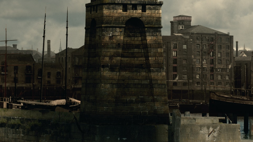 Ripper Street Series 4 & 5 - Digital Matte Painting 010 Lola Post Production