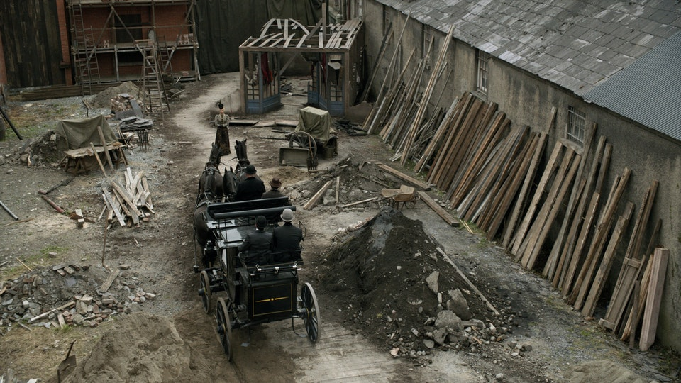 Ripper Street Series Three - Plate