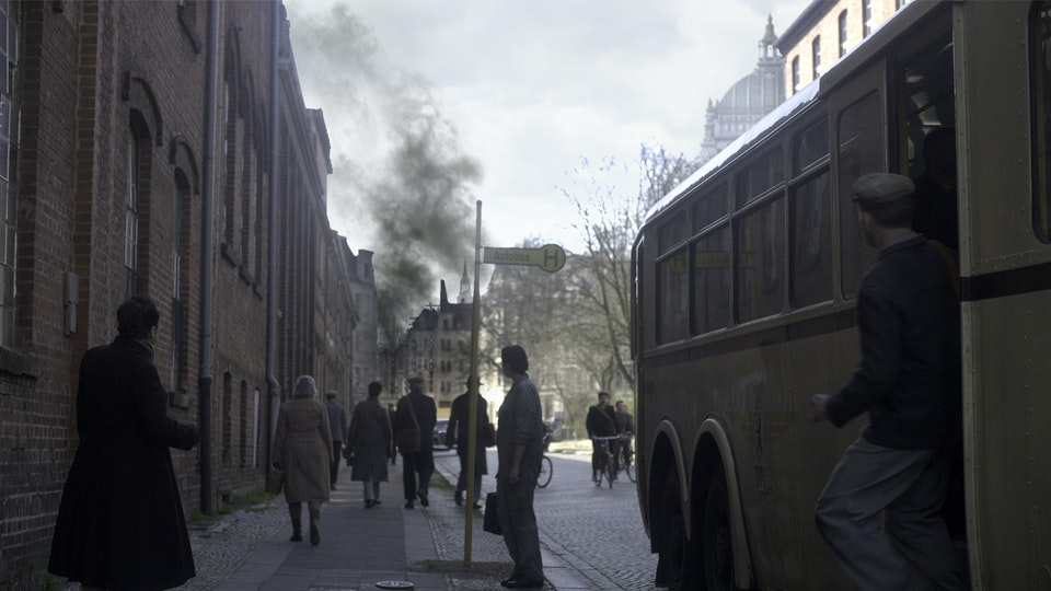 Alone in Berlin - Digital Matte Painting 07