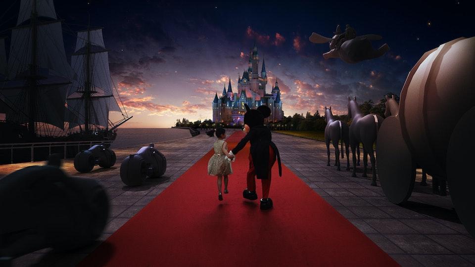 Shanghai Disney - Digital Matte Painting 02