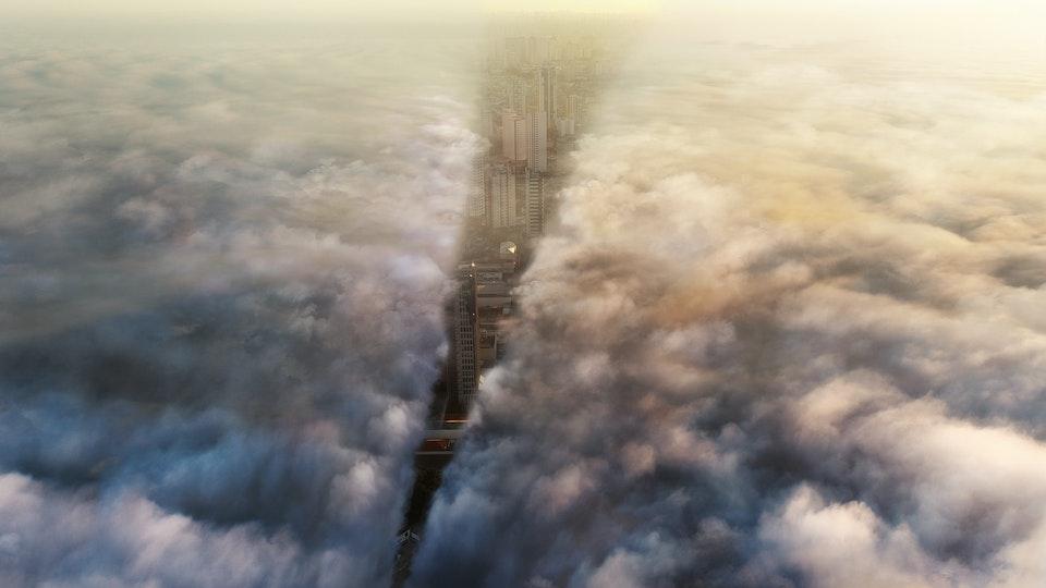 Auris - Clouds - Digital Matte Painting 01