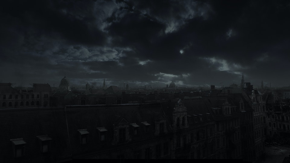 Alone in Berlin - Digital Matte Painting 05