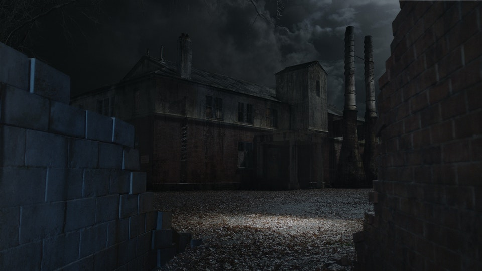 Ash vs Evil Dead 2 - Digital Matte Painting 02