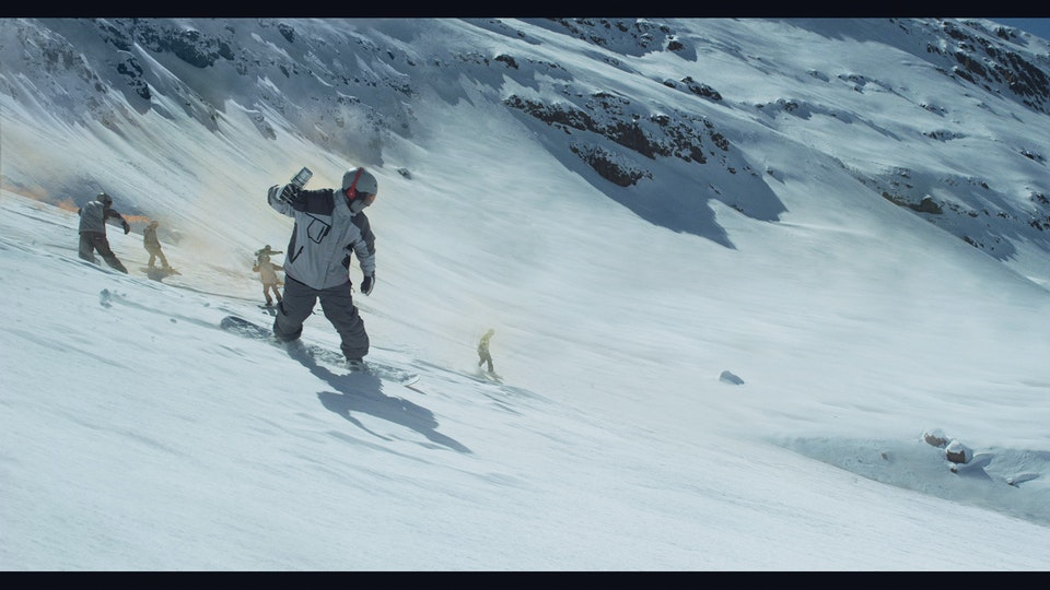 Argos 'Just Can't Wait For Christmas' - Digital Matte Painting 03