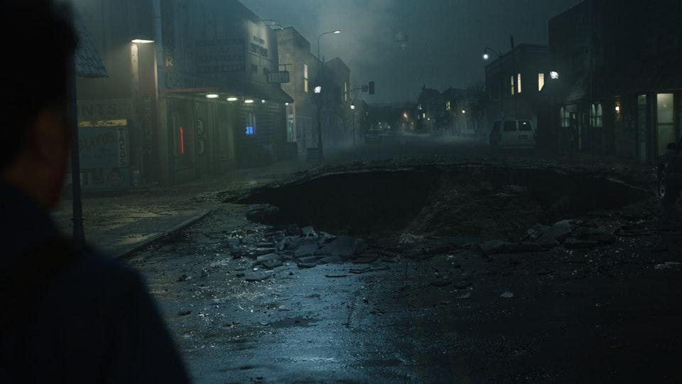 Ash and the evil dead season 4 - Digital Matte Painting