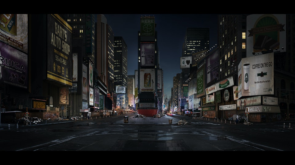 Homefront 'The Revolution' - Digital Matte Painting 'New York'