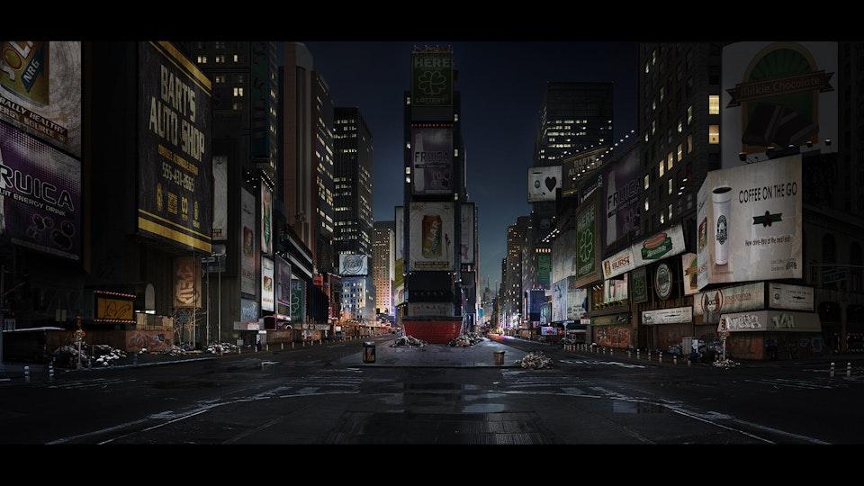 Homefront 'The Revolution' - Digital Matte Painting 'New York'