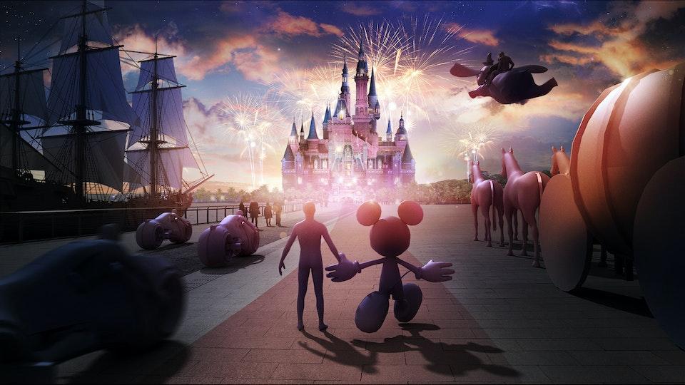 Shanghai Disney - Concept 01