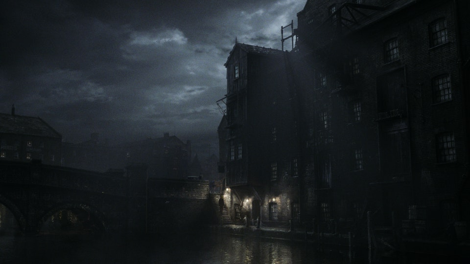 SWEENEY TODD - Digital Matte Painting 02