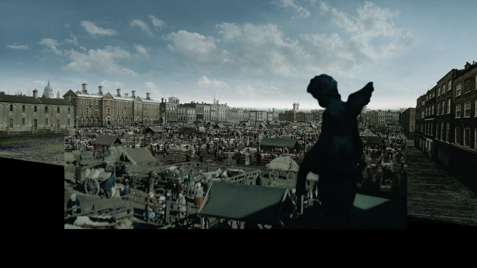 The Frankenstein Chronicles - Digital Matte Painting 01